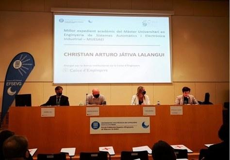 Celebració de l'Acte d'Inauguració del Curs Acadèmic 2020-21 de l'EPSEVG