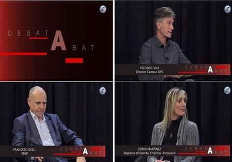 El programa 'Debat a bat' de Canal Blau TV va comptar amb la participació de Frederic Vilà, Director de l'EPSEVG, en el marc de la Fira de Novembre 2020