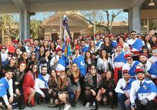 El Rector de la UPC va participar activament a les Comparses del Carnaval vilanoví 2020