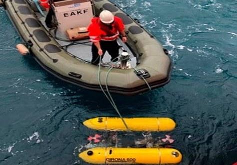 El SARTI participa, amb l'ICM-CSIC i la UdG, en un estudi de les espècies que habiten al mar profund, on es combina l'ús d'estacions de recepció acústica fixes i robots submarins