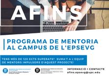 Es posa en marxa AFINS: programa de mentoria a l'EPSEVG