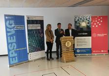 Inauguració de l'Espai Emprèn UPC Vilanova amb la presència del Rector de la UPC i l'Alcaldessa de Vilanova i la Geltú