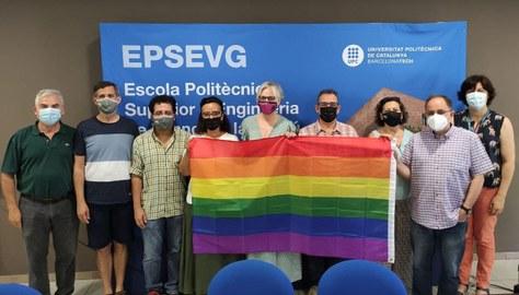 L'EPSEVG se suma a la commemoració del Dia internacional de l'Orgull LGTBIQ