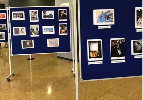Exposició de fotografies del 3er Concurs de fotografia organitzat pel Departament de Química