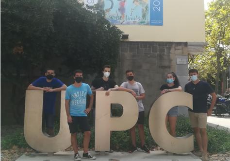 Punt de vacunació contra la COVID-19 a la UPC de Vilanova