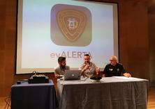 Quatre estudiants de l'EPSEVG creen l'App evALERTA