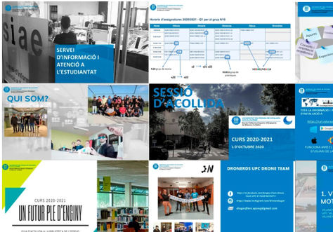 Sessió d'acollida dels nous estudiants de Grau de l'EPSEVG del Curs 2020-21