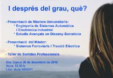 Sessió Informativa dels Màsters de l'EPSEVG i del Taller de Sortides Professionals