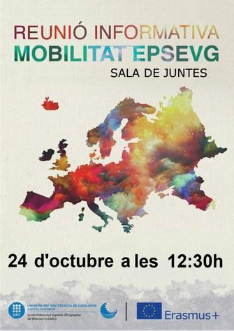Sessió informativa sobre programes de mobilitat curs 2020-21