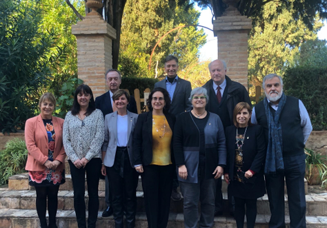 Signatura del preacord PECT-II (Projecte d'Especialització i Competitivitat Territorial) sobre l'envelliment actiu i la dependència
