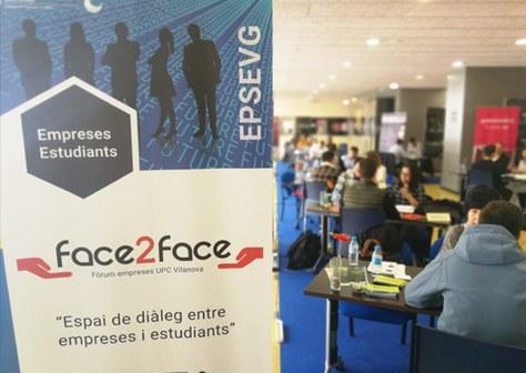15na Edició del Fòrum d'empreses i estudiants d'Enginyeria Face to Face