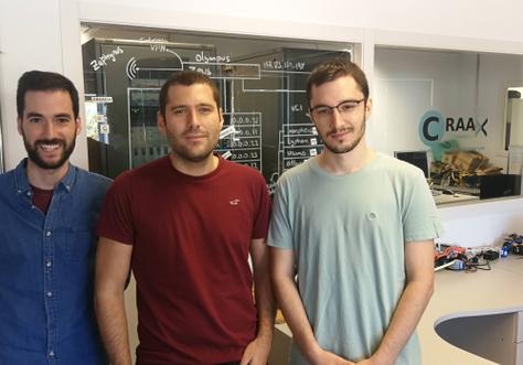 Tres estudiants de l'EPSEVG han guanyat un dels reptes de la HackUPC 2019