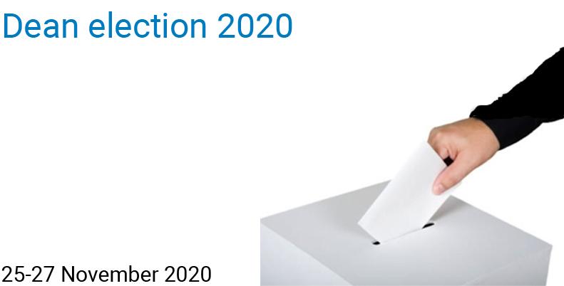 Dean election 2020
