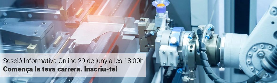 Sessió Informativa Màster universitari en Enginyeria de Sistemes Automàtics i Electrònica Industrial - 29 de Juny a les 18.00h