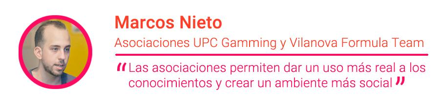 Asociaciones - Marcos Nieto