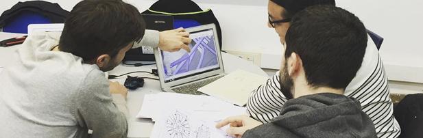 Treballaràs en projectes multidisciplinaris