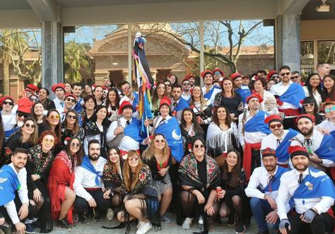 El Rector de la UPC participó activamente a las Comparsas del Carnaval de Vilanova i la Geltrú 2020