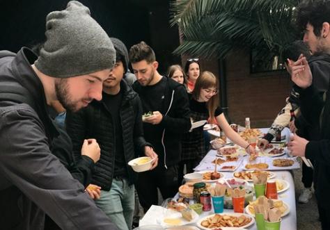 Éxito de asistencia al 'International Lunch 2020' de la EPSEVG