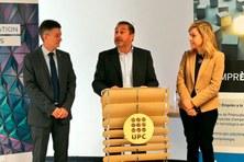 Inauguración del 'Espai Emprèn UPC Vilanova' con la presencia del Rector de la UPC y la Alcaldesa de Vilanova i la Geltú