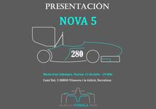 Presentación del monoplaza NOVA 5 de la temporada 2018- 2019 del Vilanova Formula Team (VFT)