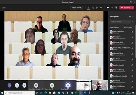 Primer encuentro virtual de coordinadores de la EPS