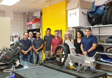 Visita a la EPSEVG de la directora y los jefes de los departamentos de tecnología del Instituto Andreu Nin de El Vendrell