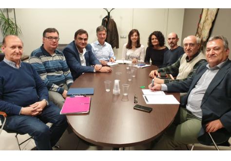 Visita a la EPSEVG del Vicerector de Evaluación y Calidad de la UPC y la Directora del ICE de la UPC